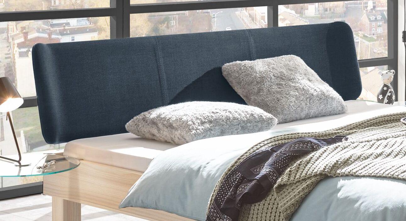 Bett Burlington mit Kopfteil im Retro-Stil