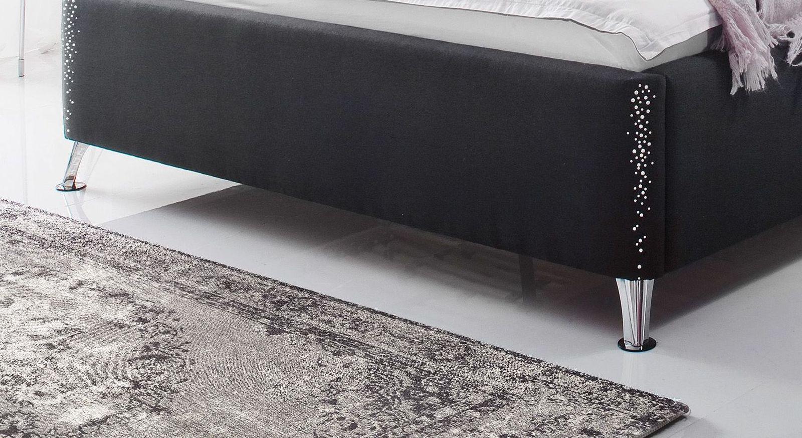 Bett Capistello mit ausgestellten Bettbeinen