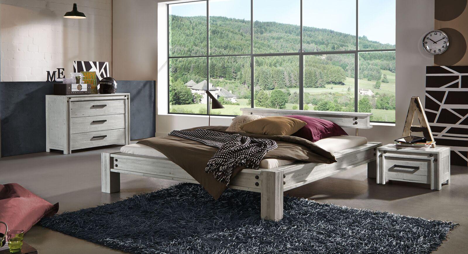 Bett Cekin mit passenden Schlafzimmermöbeln