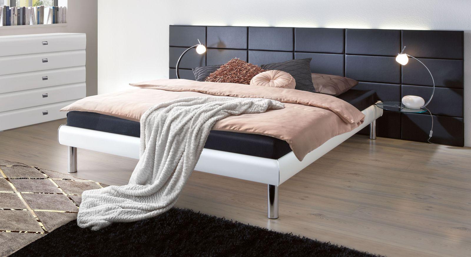 Bett Cordoba mit pflegeleichtem Dekor-Rahmen