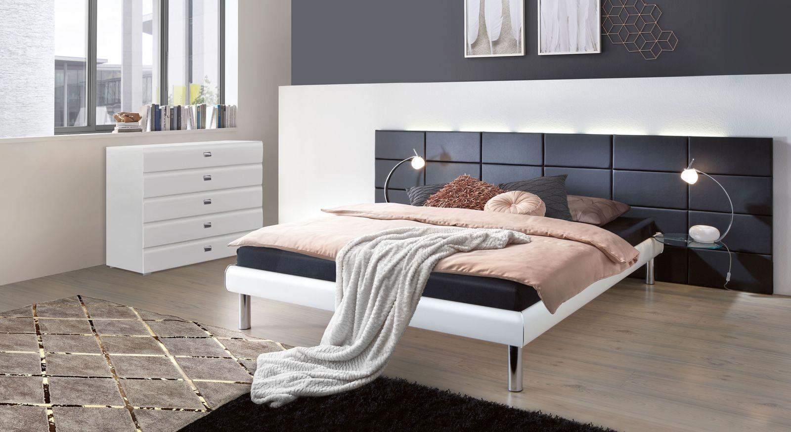 Bett Cordoba mit passender Schlafzimmer-Ausstattung