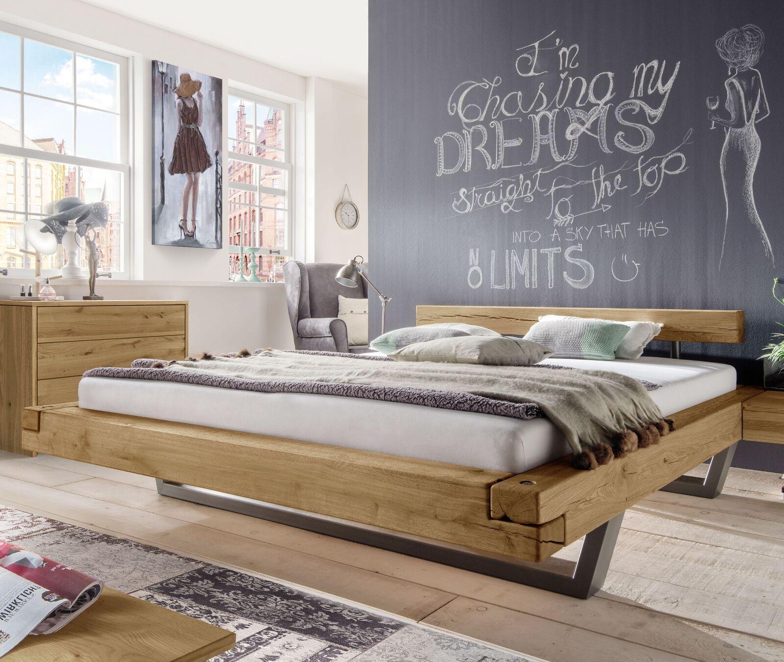 Modernes Bett Darica Mit Schwebeoptik Trendiges Industrial Design: Das  Schwebebett