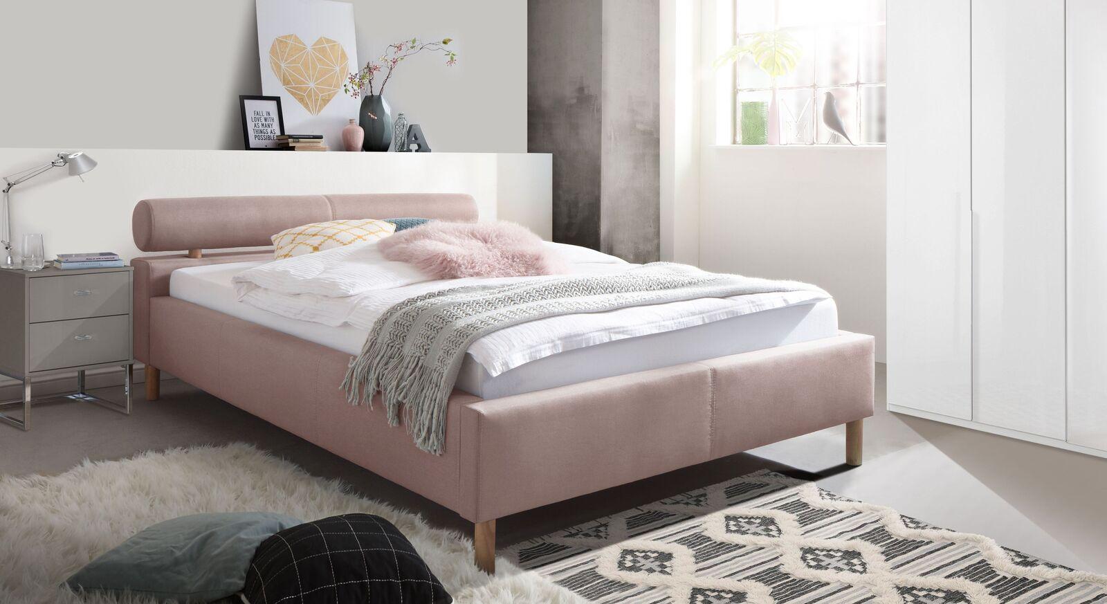 Bett Dorado mit passenden Schlafzimmermöbeln