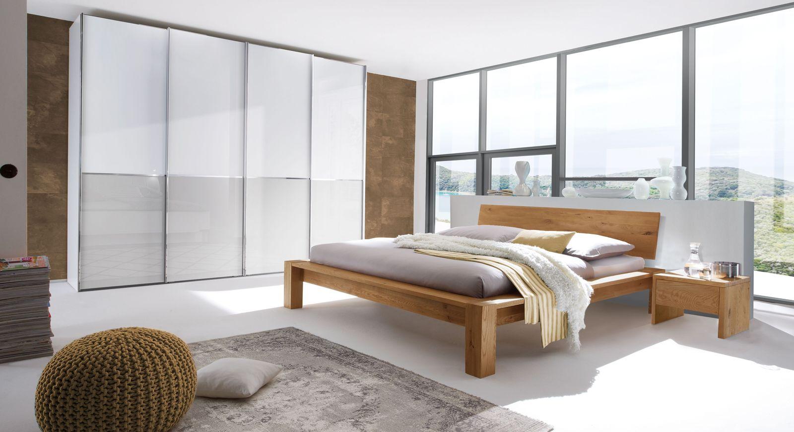 Bett Evora mit passender Schlafzimmer-Ausstattung