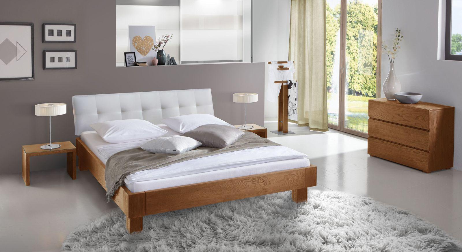 Bett Faro mit passender Schlafzimmer-Ausstattung