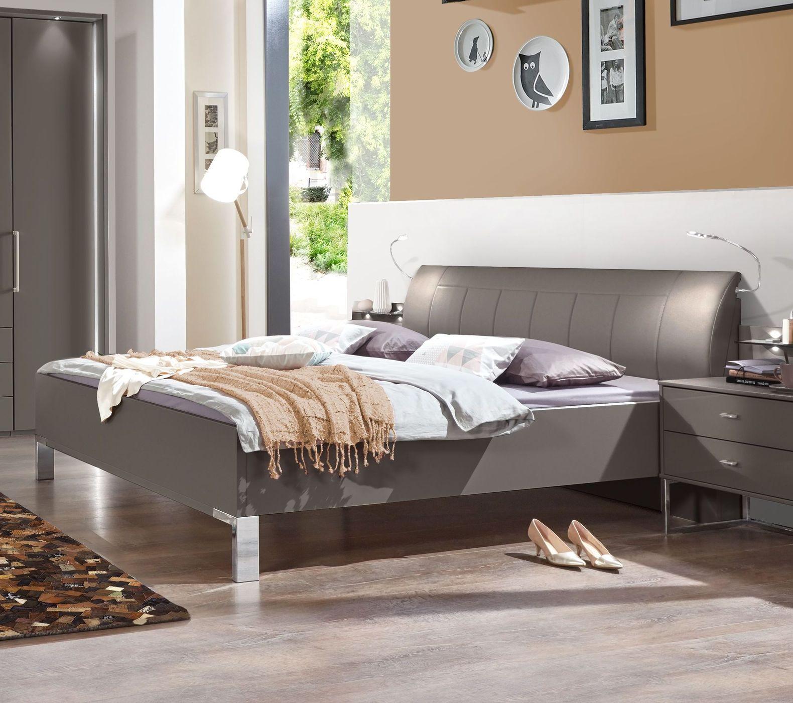 bett in komforth he mit kunstleder kopfteil in havanna harrow. Black Bedroom Furniture Sets. Home Design Ideas