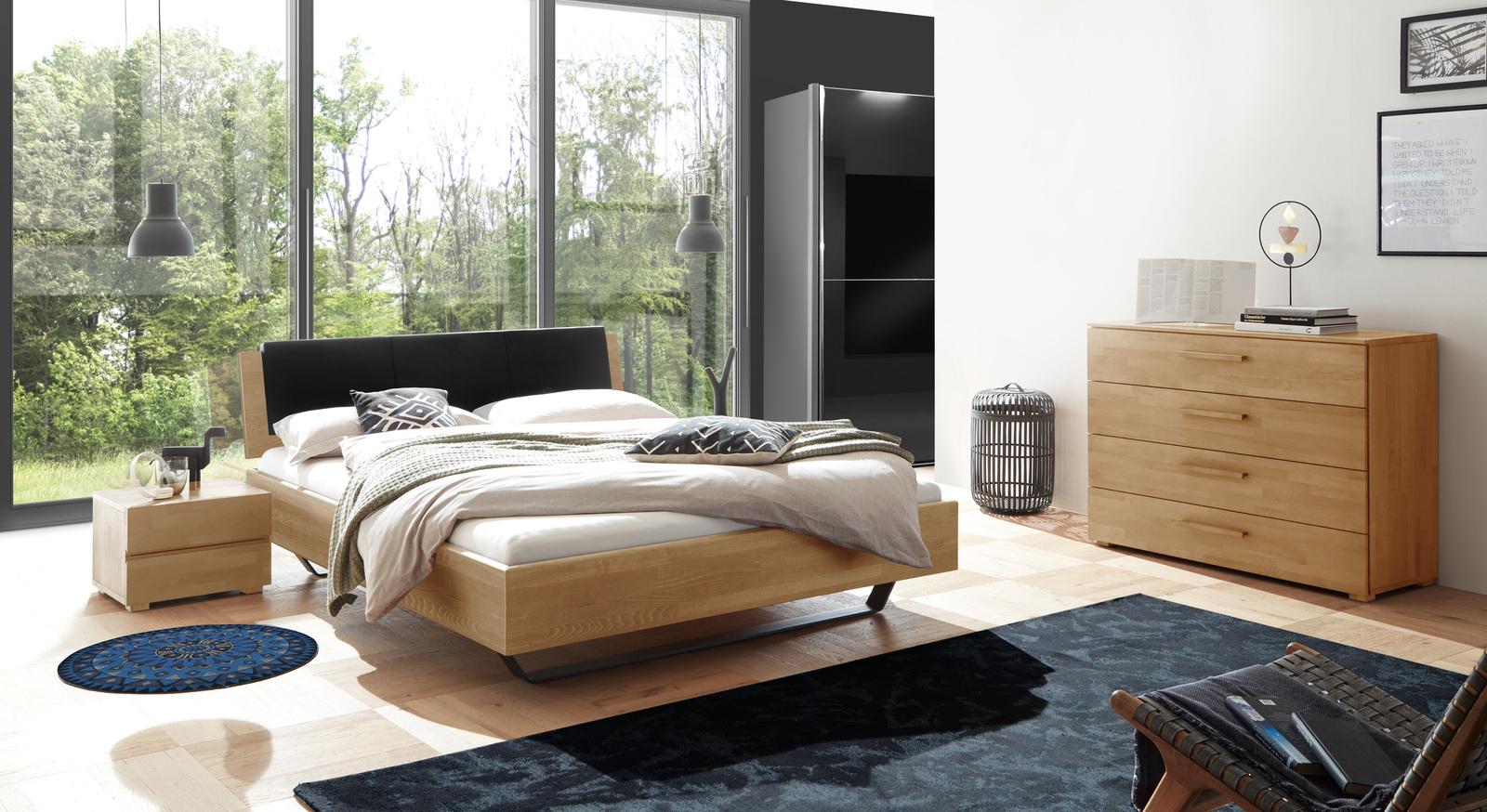 Bett Honoka mit passenden Schlafzimmermöbeln