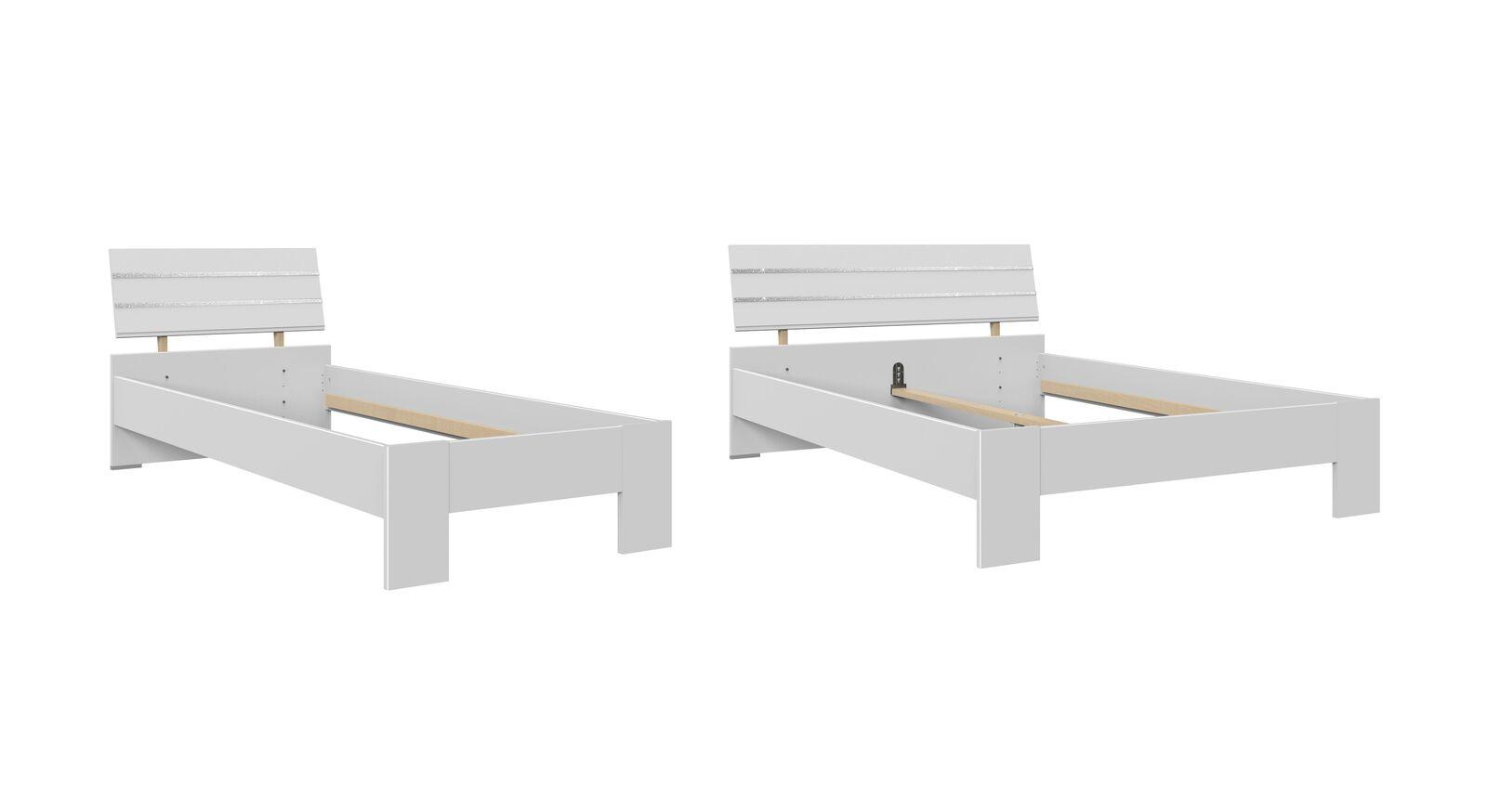 Bett Lajana in zwei Größen erhältlich
