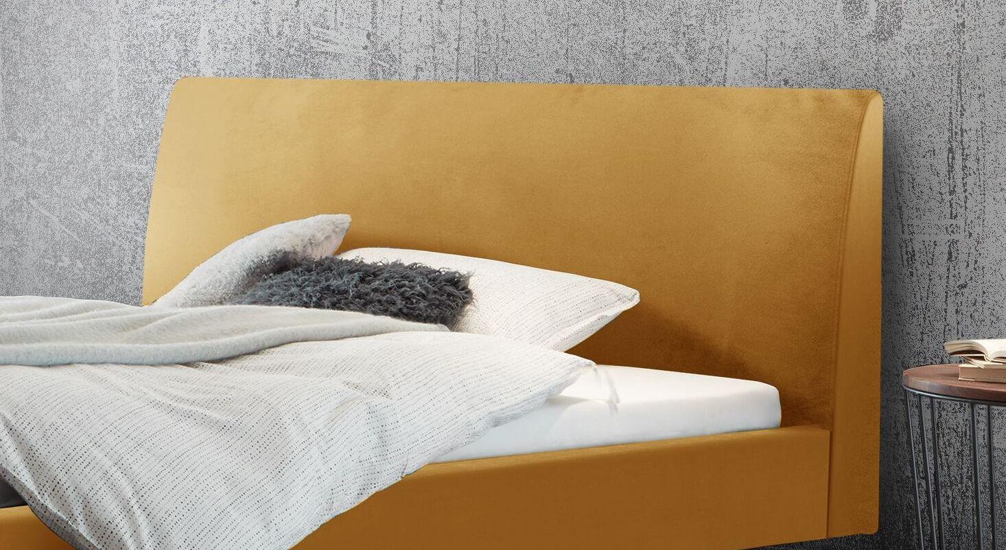 Bett Lieven mit bequem gepolstertem Kopfteil