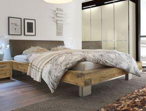 GroBartig Rustikales Bett Limeira Inklusive Kopfteil