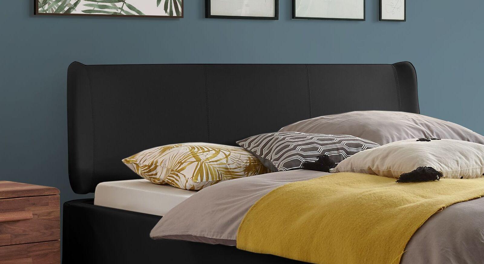 Bett Malea mit Kopfteil im Retro-Stil