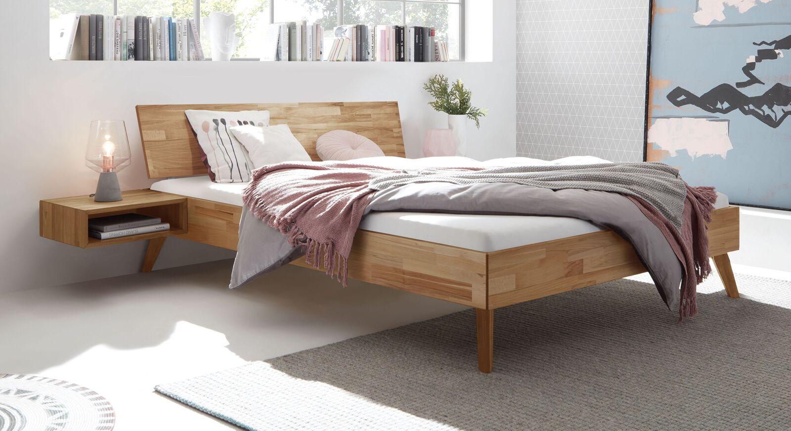 Bett Malinga - das gemütliche Vollholzbett