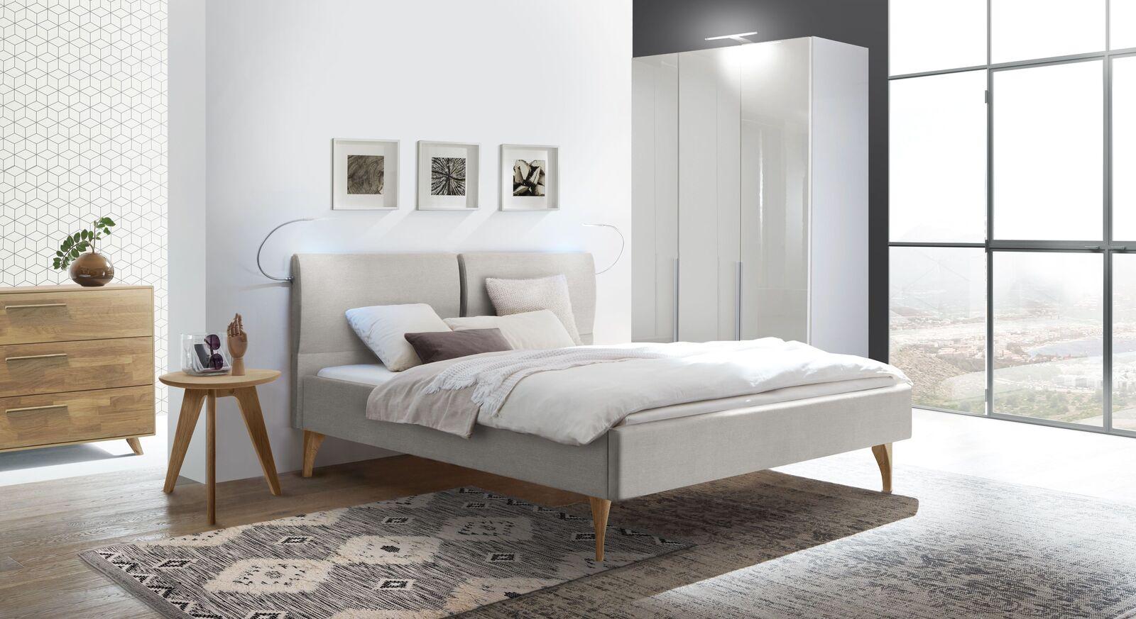 Modernes Komplett-Schlafzimmer mit Bett Marla