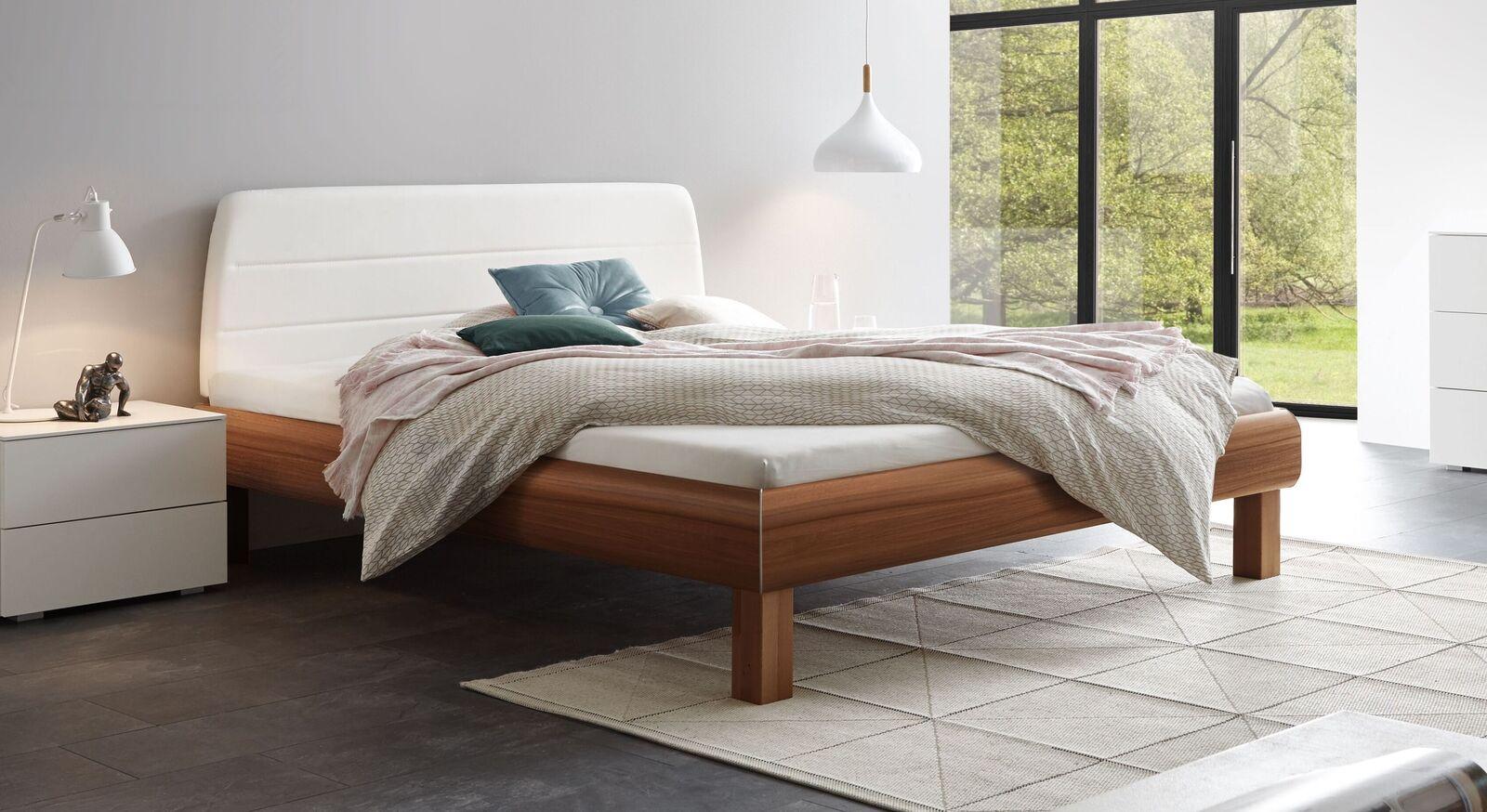 Modernes Bett Mencia mit Dekor-Bettrahmen