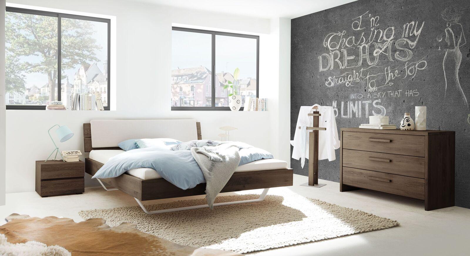 Bett Nakiri mit passenden Schlafzimmer-Möbeln