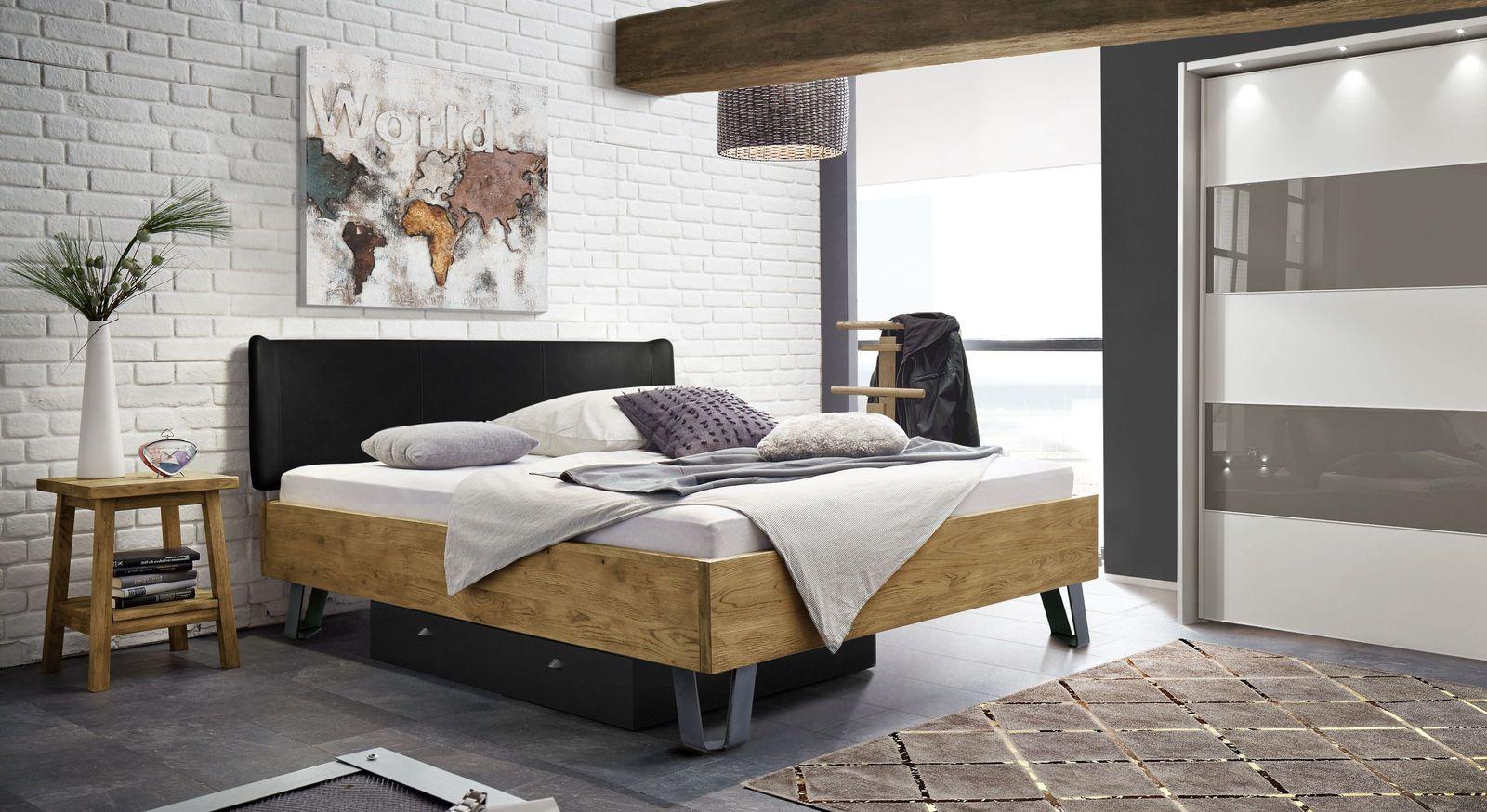 Bett Passo mit passenden Schlafzimmer-Möbeln