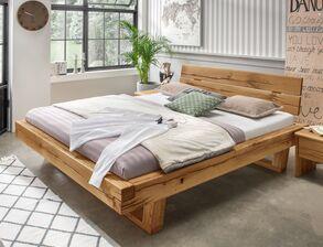 Balkenbetten Und Betten In Balkenoptik Kaufen Betten De