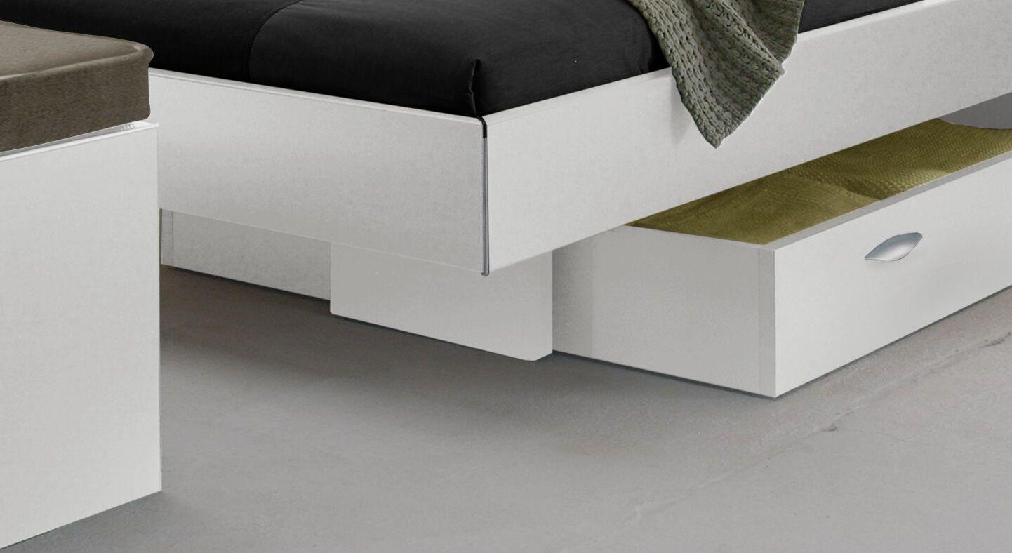 Modernes Bett Riverhead in geradlinigem Design