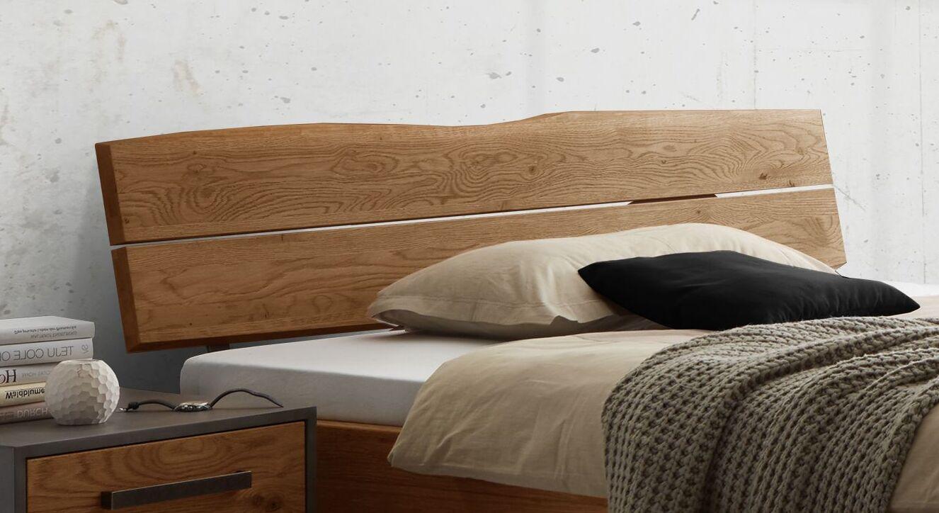 Bett Rivoche mit geneigtem Holzkopfteil