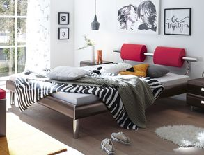 Stylisches Design-Bett Rocio