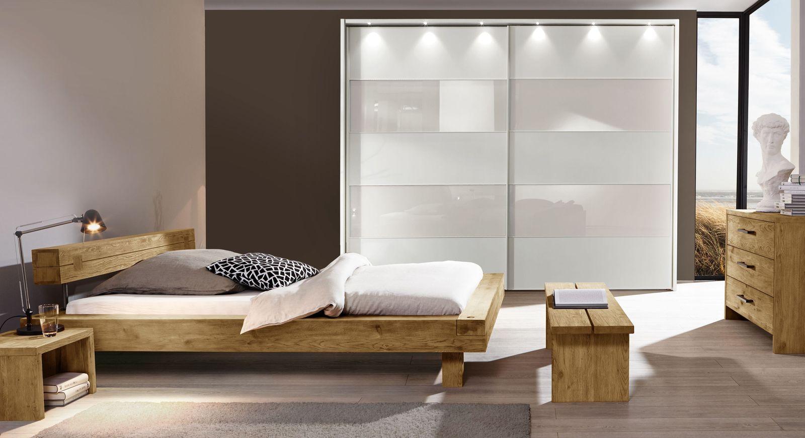 Bett San Luis mit passender Schlafzimmer-Ausstattung