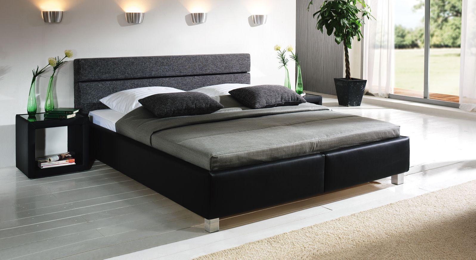 Bett Sanremo modern 9cm Füße