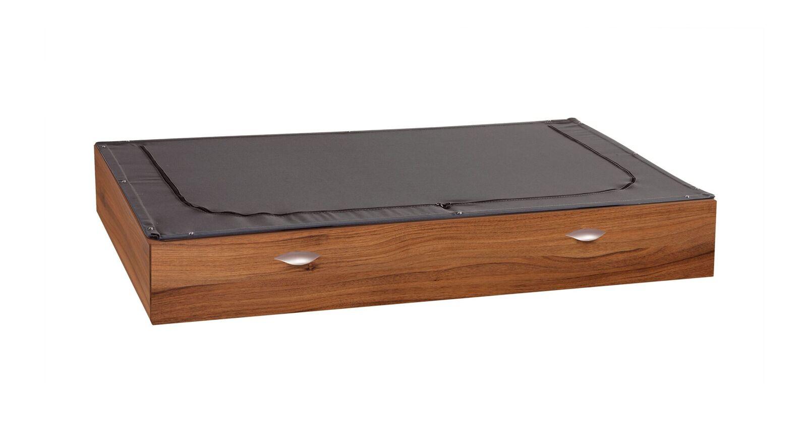 Bett-Schubkasten Pesaro mit hochwertigem Stoffdeckel