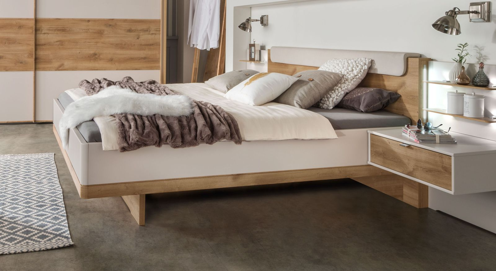 Bett Seabrook im stilvollem Design