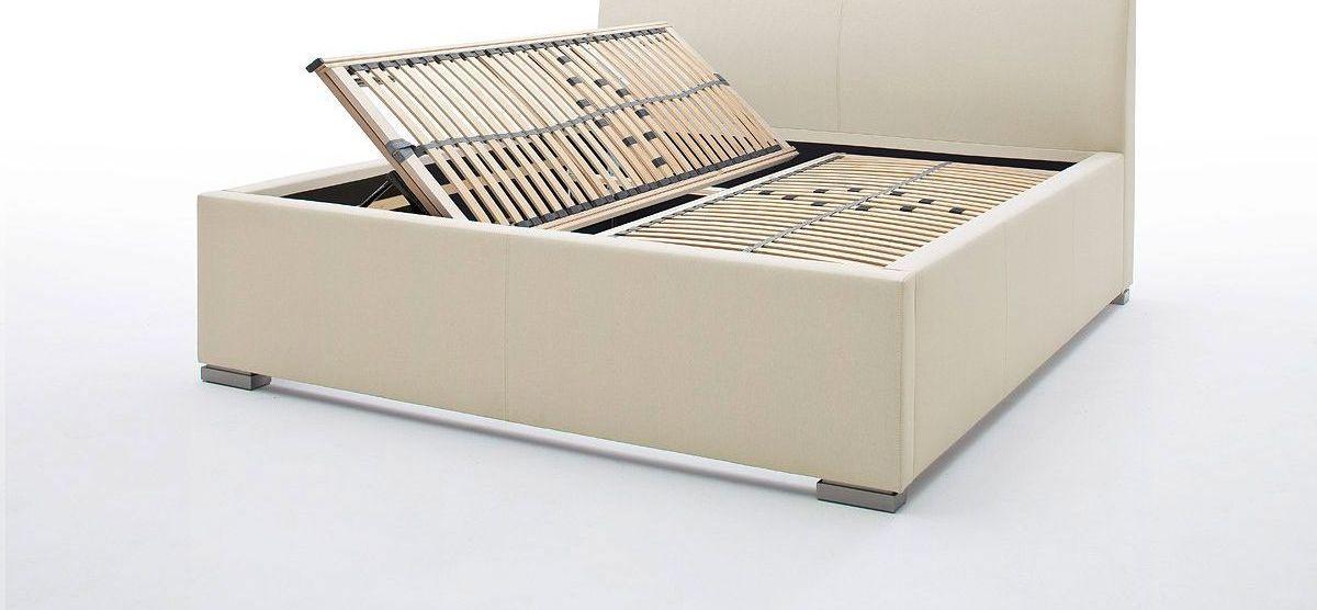 Bett Sesimbra optional mit Lattenrost und Bettkasten