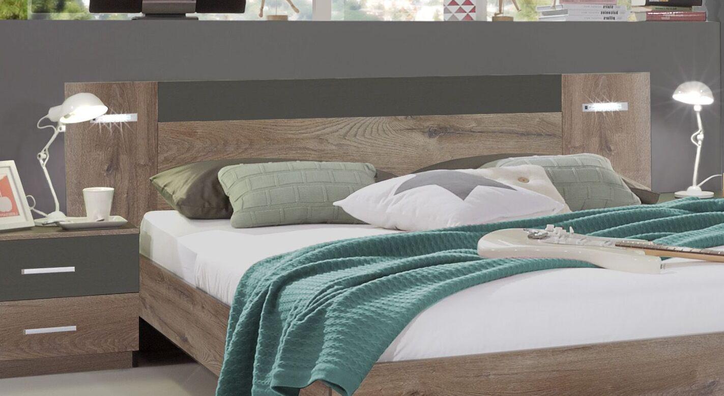 Bett Sontras Kopfteil mit LED-Leuchte