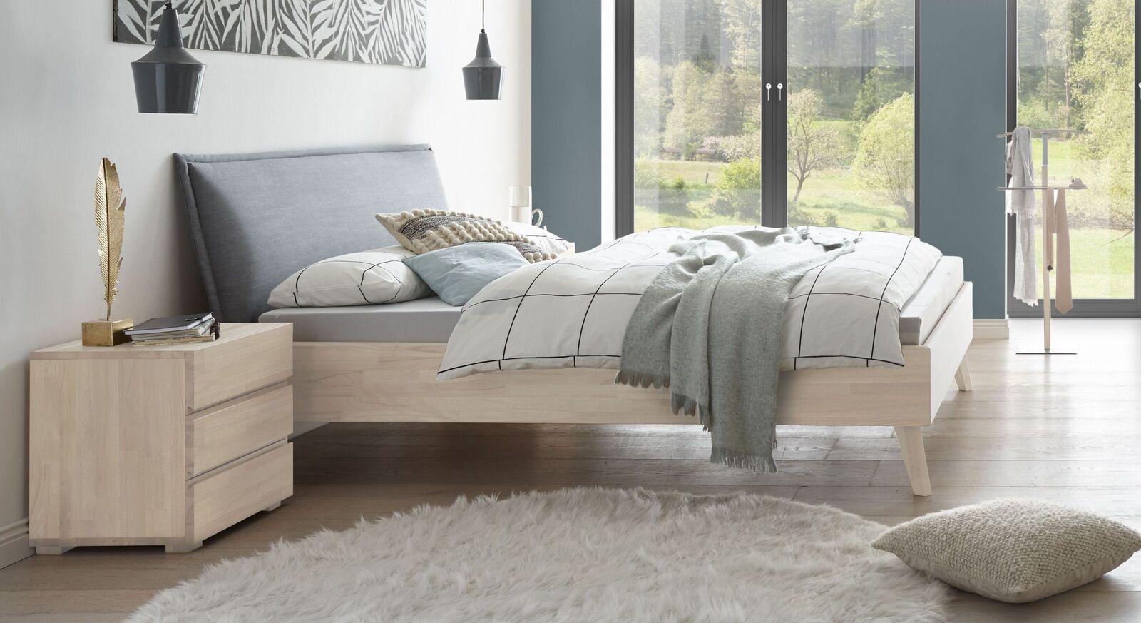 Angesagtes Bett Soprenia in Weiß