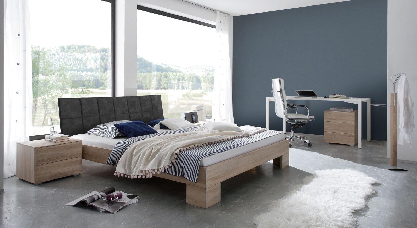 Bett Stephenville mit passender Schlafzimmer-Ausstattung