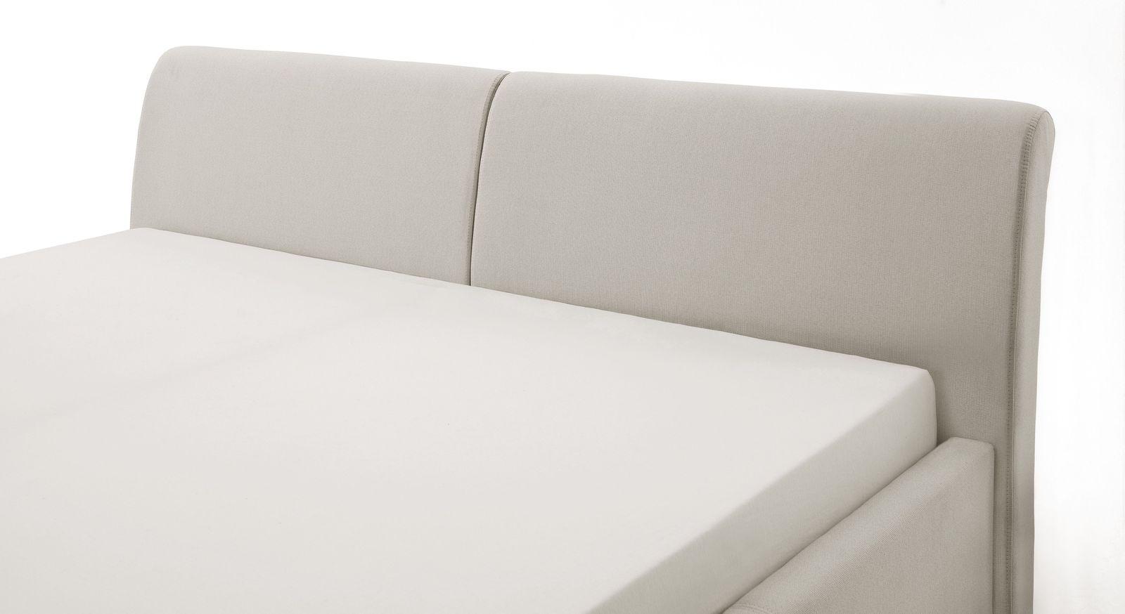 Modernes Bett Sulivan mit geteiltem Kopfteil
