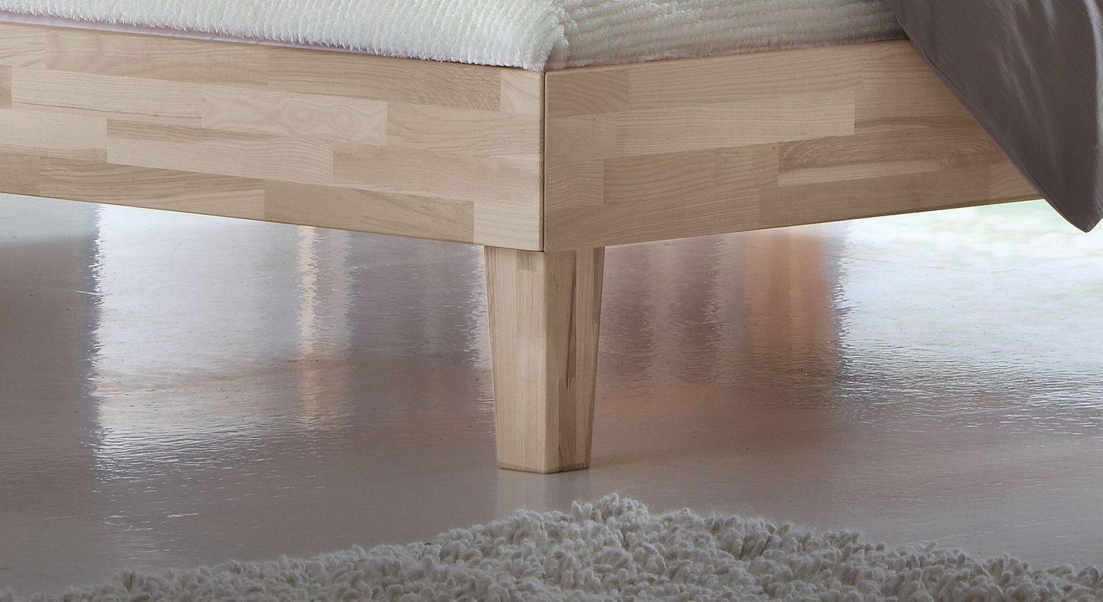 Bett in 160x220 cm Größe und optionalem Bettkasten - Sunrise
