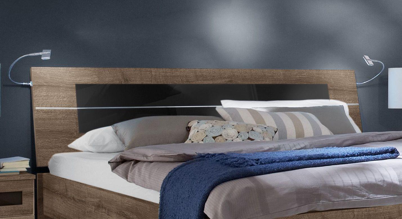 Bett Surano inklusive Kopfteil zum Anlehnen