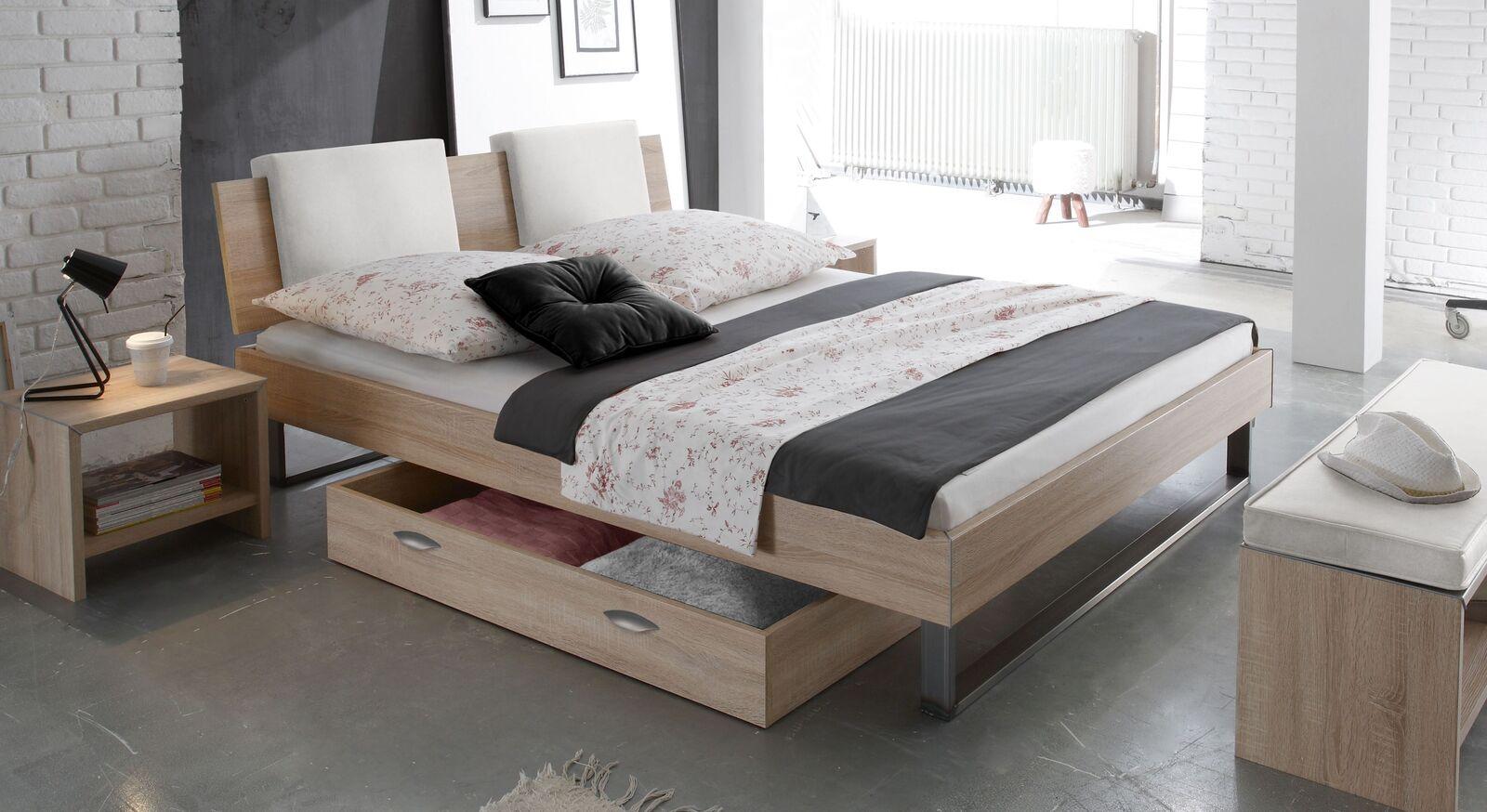 Preiswertes Bett Torbay im Loft-Design