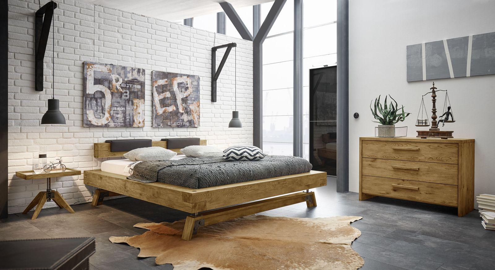 Bett Valdivia mit passender Schlafzimmer-Einrichtung