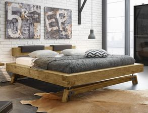 Industrial-Schlafzimmer Wildeiche mit Vintage-Charme - Valdivia