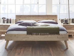 Holzbett modern  Massivholzbetten 100×200 cm versandkostenfrei