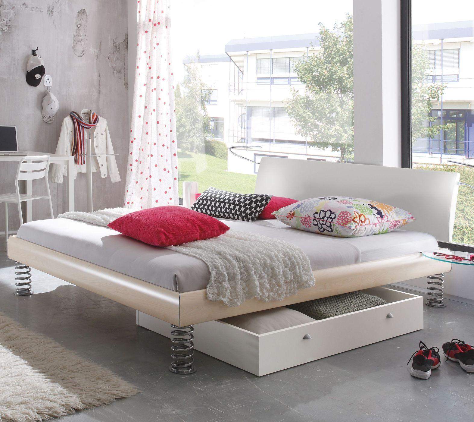Cooles Einzel- und Doppelbett mit Sprungfedern - Wereda