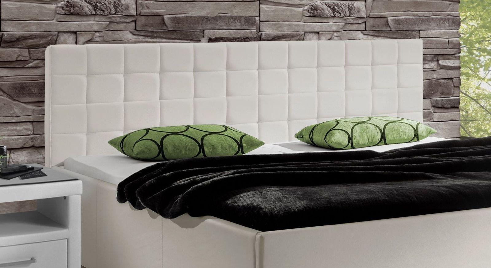 bett in 180x200 cm in lichtgrau aus kunstleder withernsea. Black Bedroom Furniture Sets. Home Design Ideas