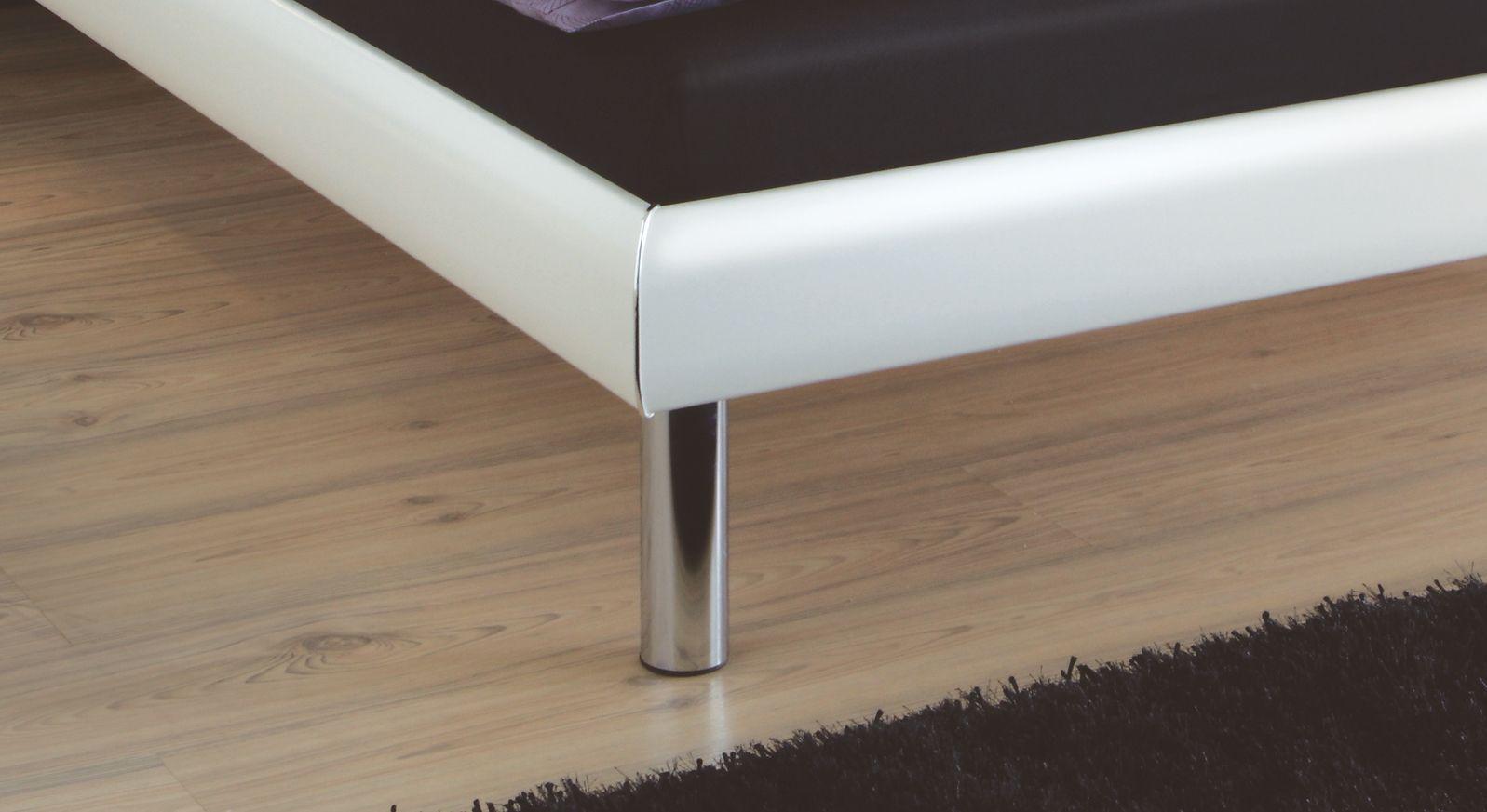 Bett Cordoba Bettbeine Füße zylinderförmig stabil