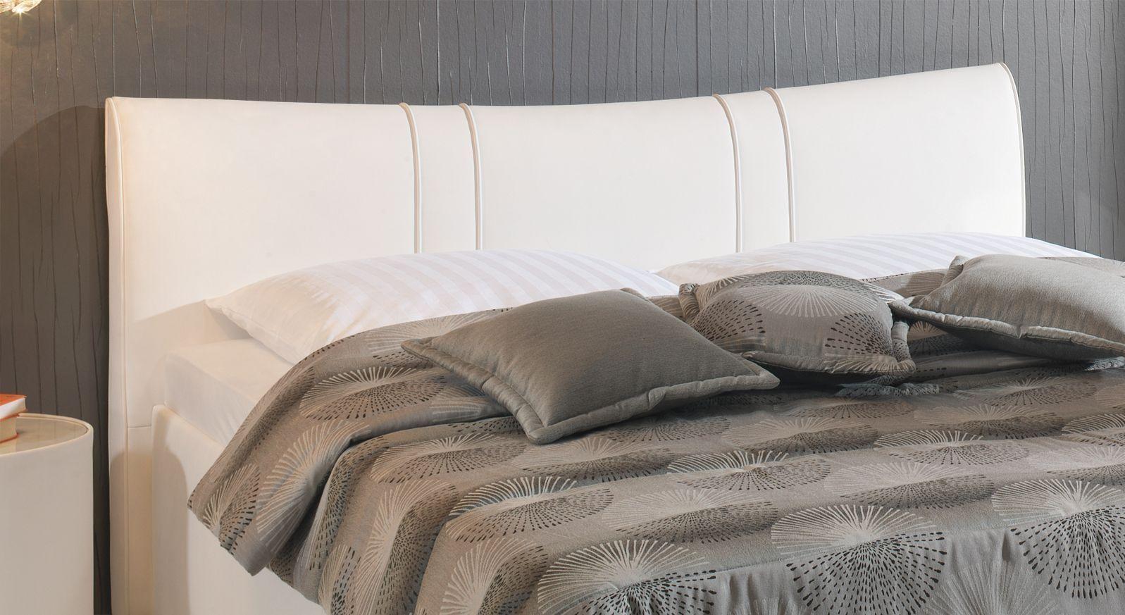 Bett Venetien Kopfteil gerundet