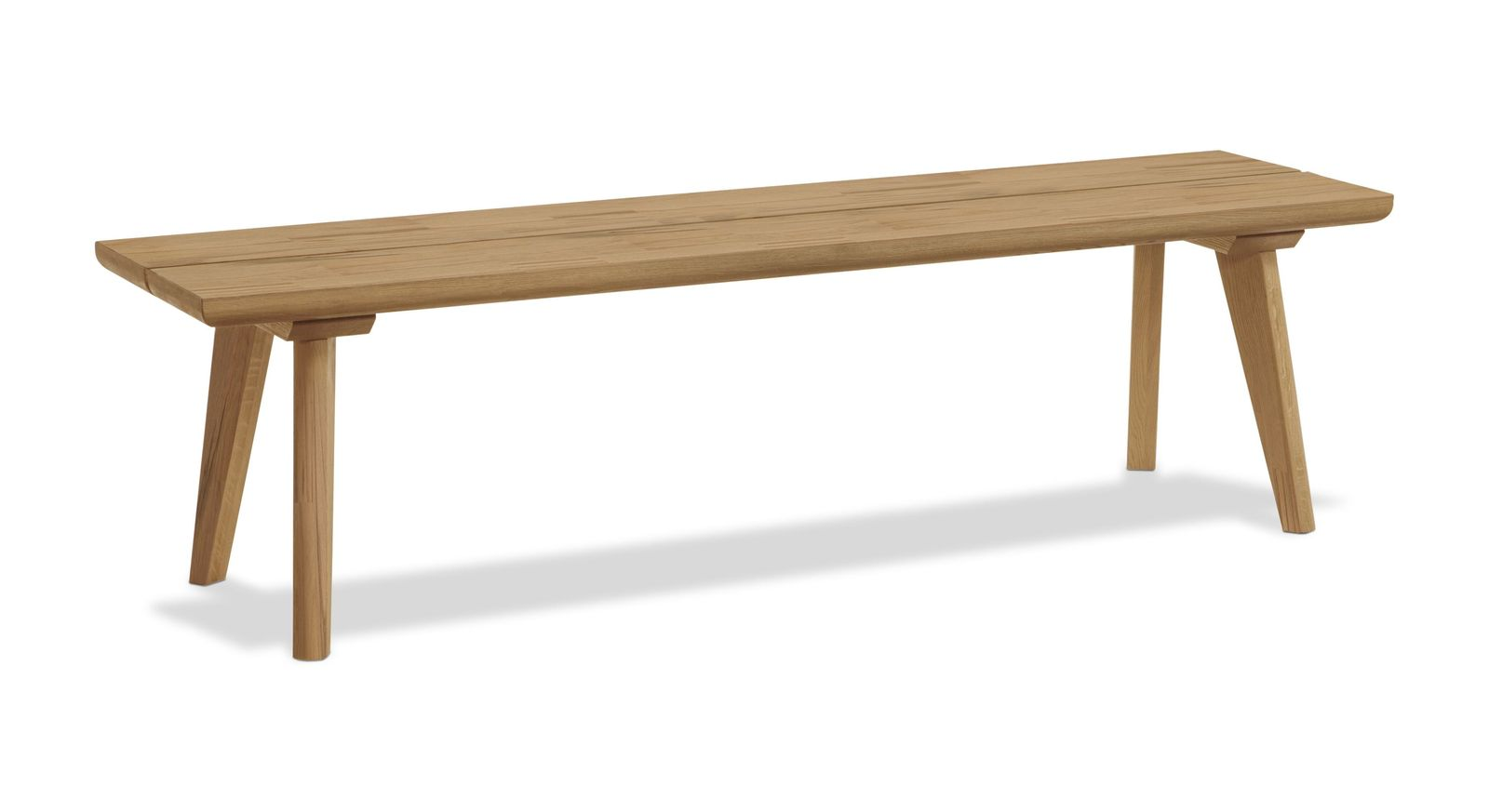 Retro Bettbank Ballina gefertigt aus Massivholz