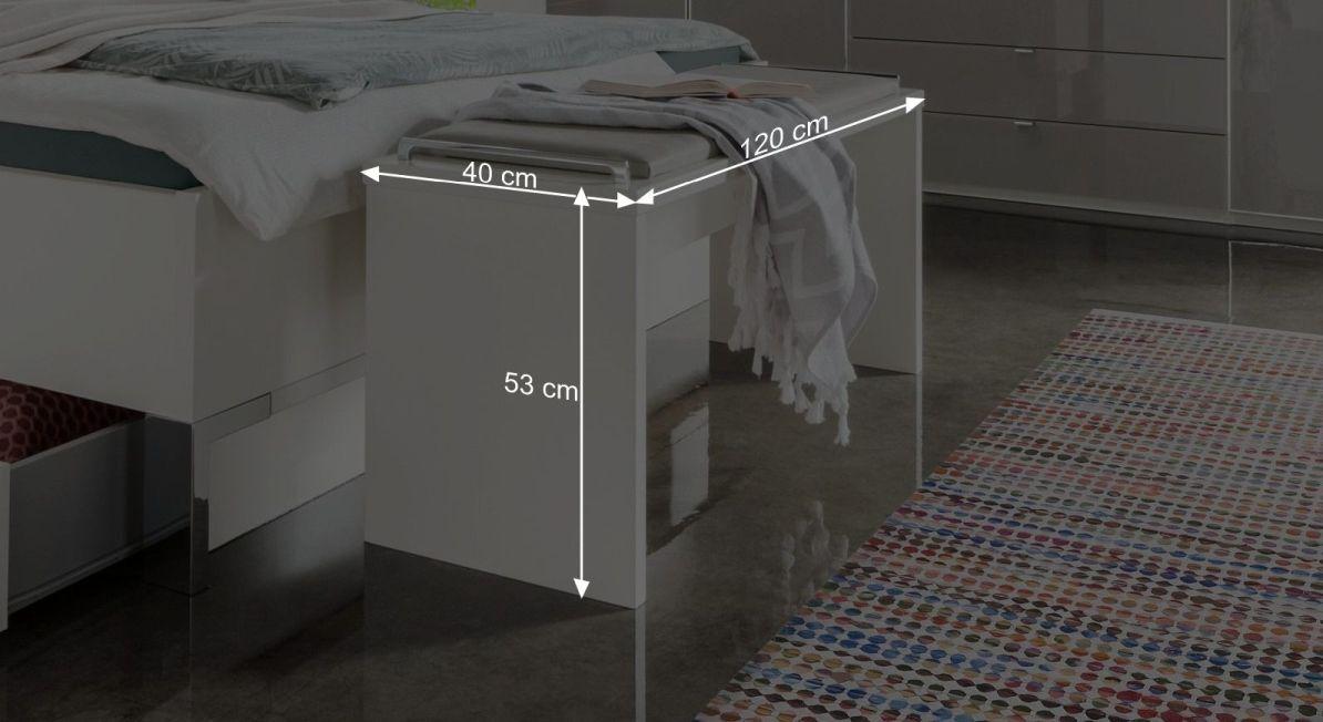 Bemaßungsgrafik zur Bettbank Shanvalley