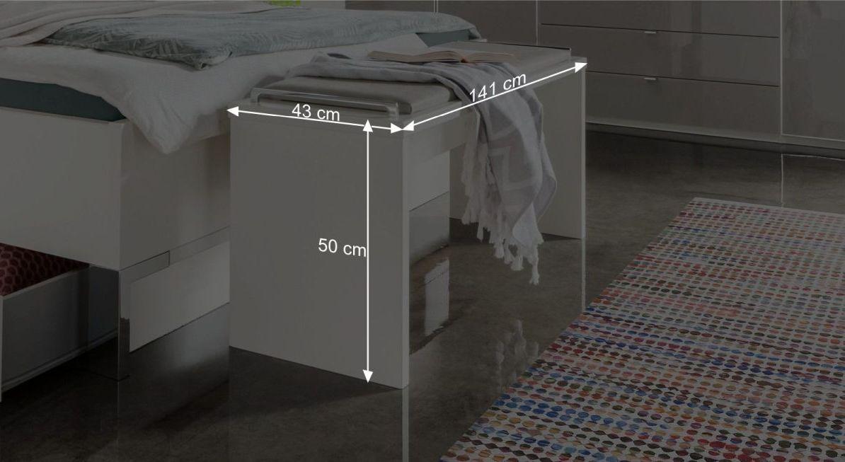 Maßgrafik zur Bettbank Shanvalley