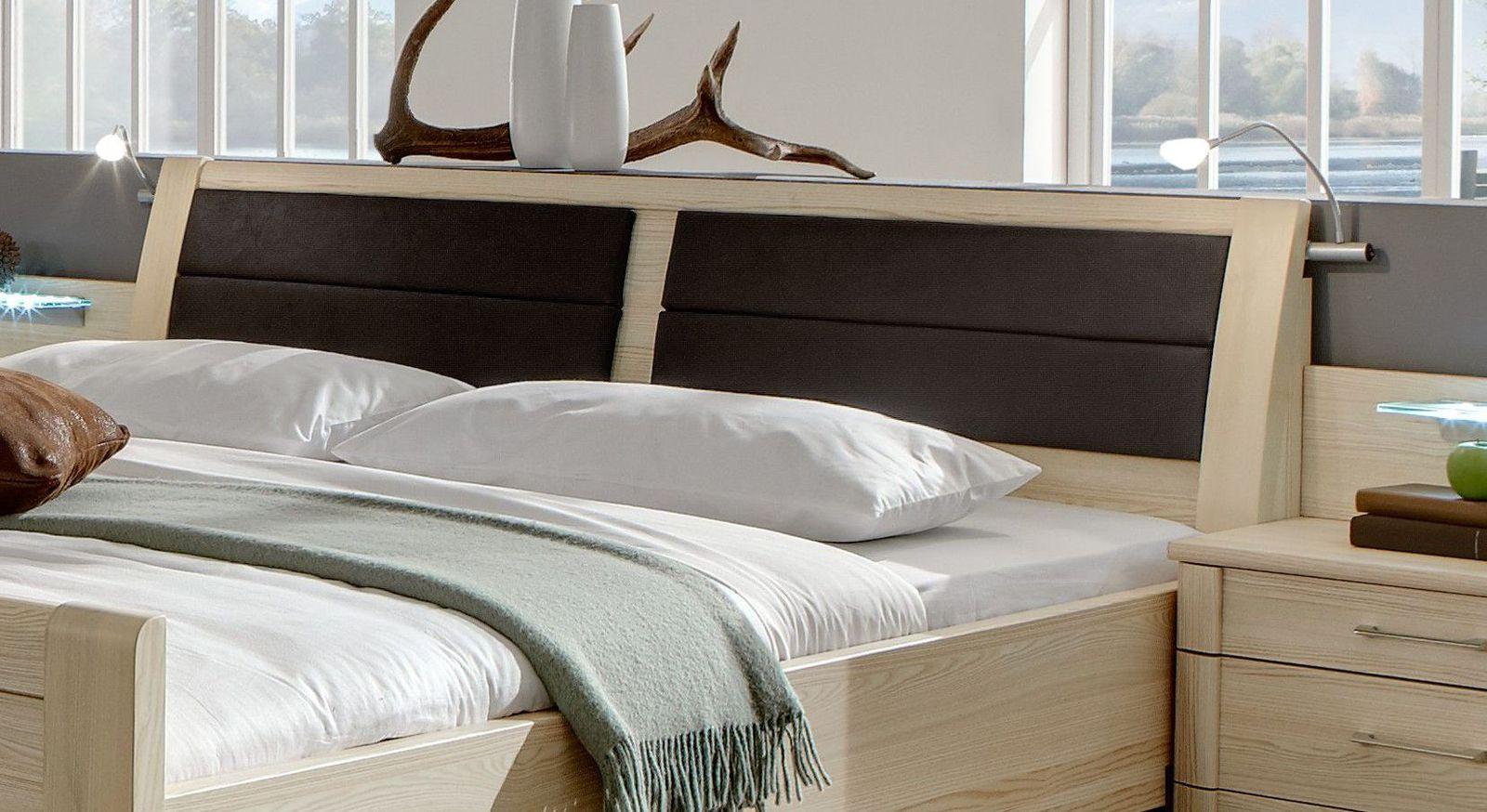 Betten Rapino mit Kopfteil-Polsterung ohne Kasten