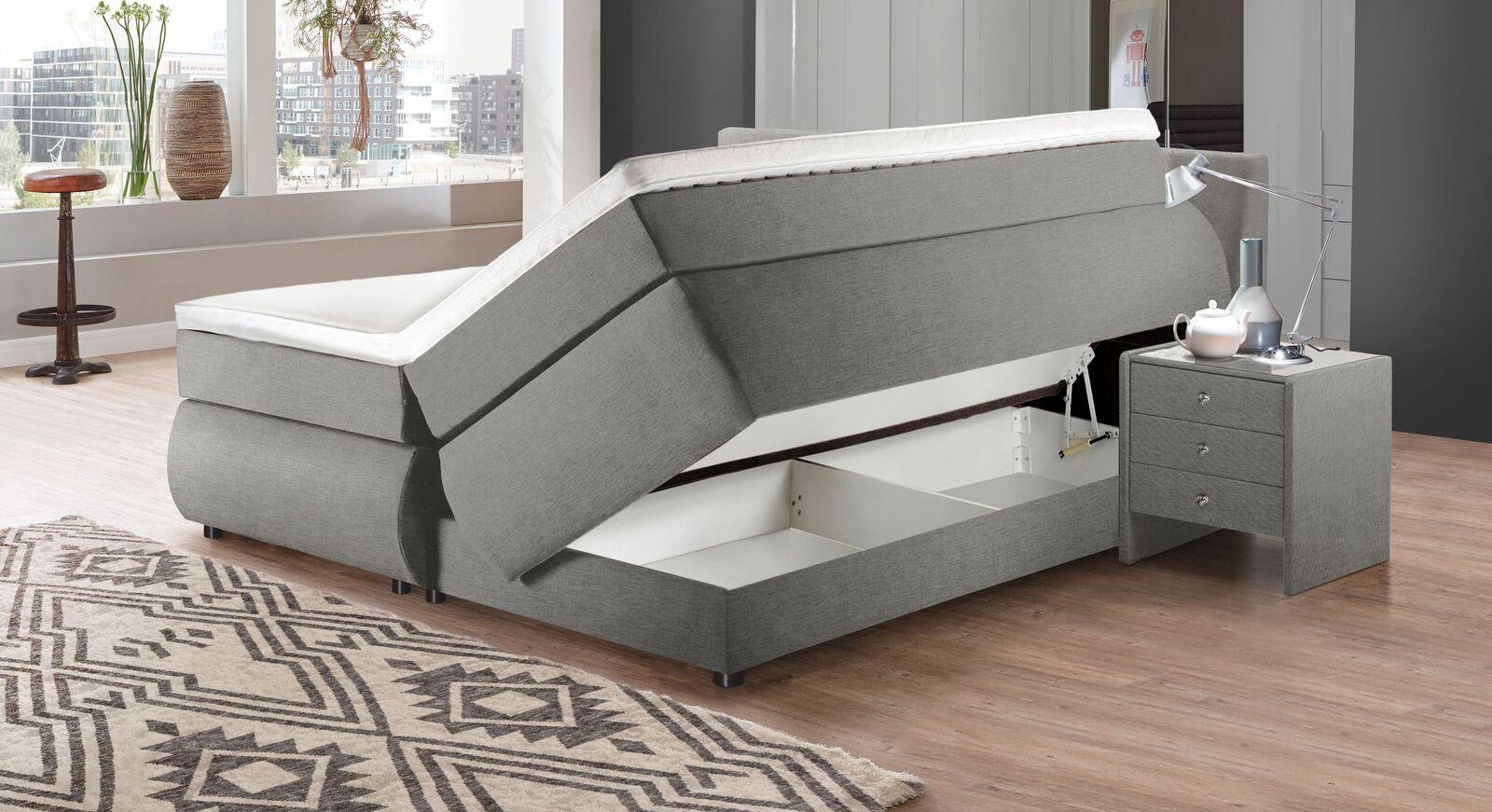 Bettkasten-Boxspringbett Highgate mit praktischem Stauraum
