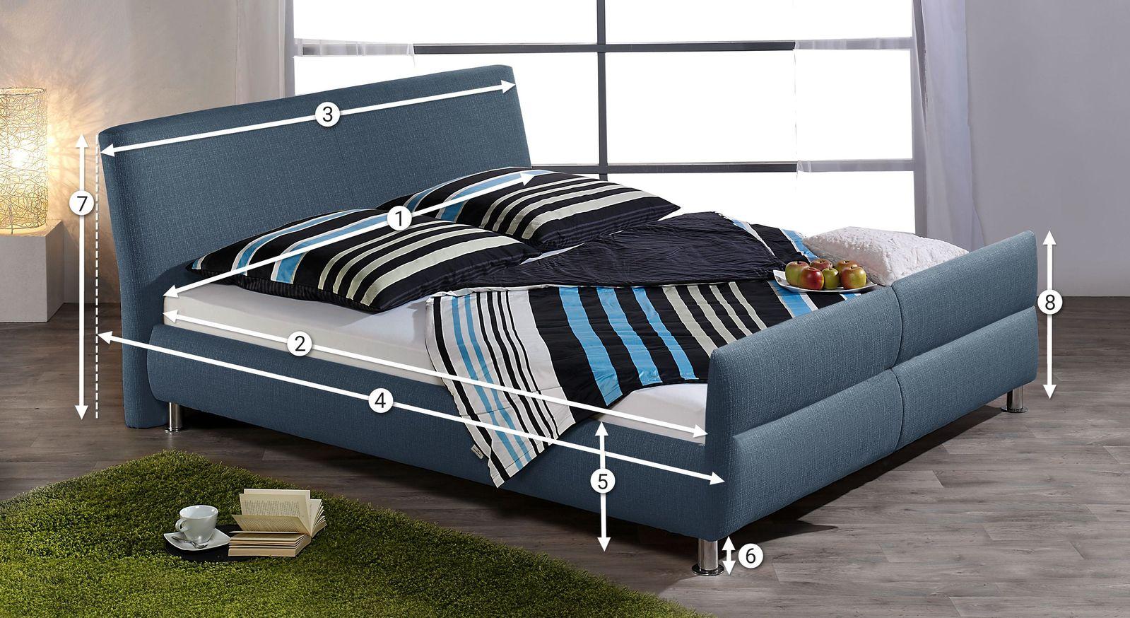 Maße bei Betten - Bettmaße richtig erklärt bei BETTEN.de
