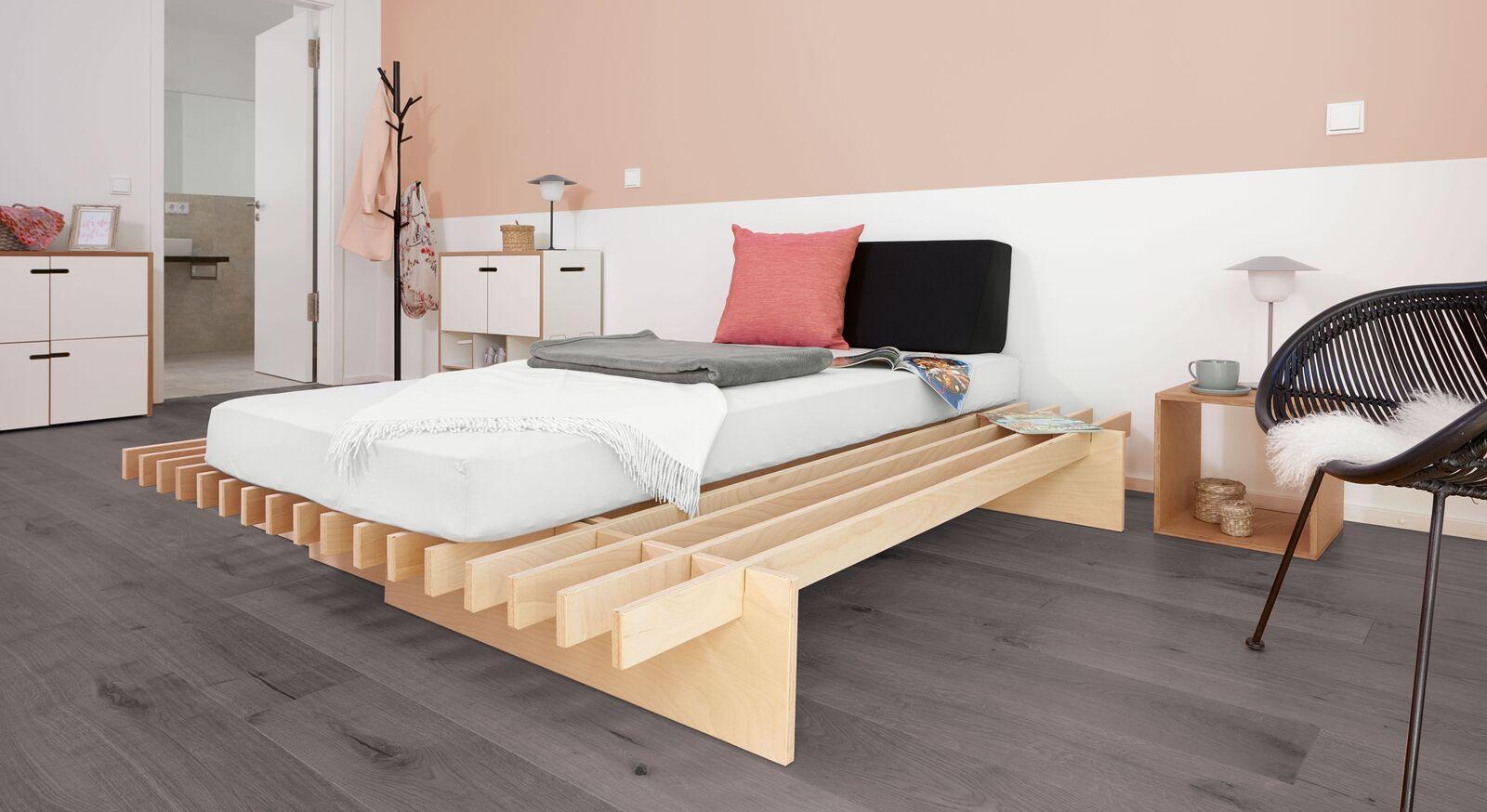 Passender Nachttisch zum Bettsystem Tojo Parallel